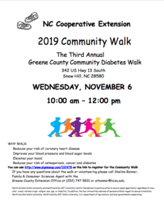 Cover photo for 2019 Community Walk