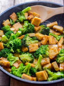 Cover photo for Meatless Meal: Tofu With Broccoli